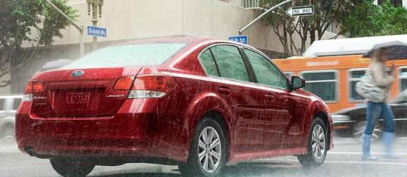 2012 Subaru Legacy, Back quarter view. , exterior, manufacturer, gallery_worthy