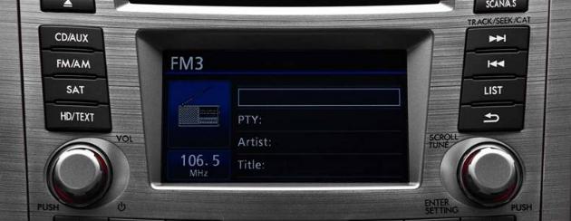 2012 Subaru Legacy, Stereo. , interior, manufacturer