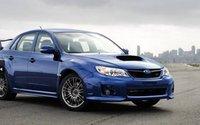 2012 Subaru Impreza WRX STi, Front quarter view. , exterior, manufacturer