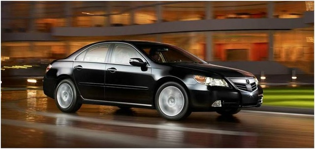 2012 Acura RL, Front quarter, exterior, manufacturer, gallery_worthy