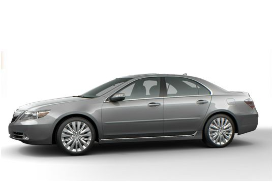 2012 Acura RL, Side view, manufacturer, exterior