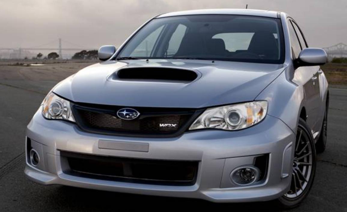 2012 Subaru Impreza WRX STi, Front View., exterior, manufacturer
