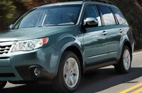 2012 Subaru Forester, Front quarter view. , exterior, manufacturer