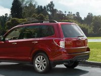 2012 Subaru Forester, Back quarter view. , manufacturer, exterior