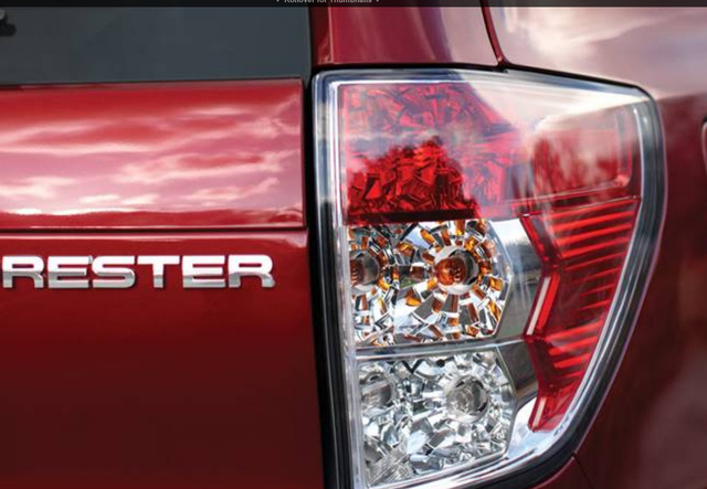 2012 Subaru Forester, Tail Light., exterior, manufacturer