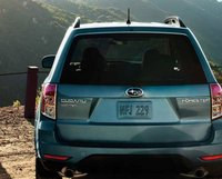 2012 Subaru Forester, Back View. , manufacturer, exterior