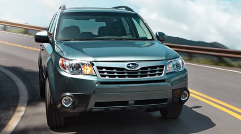 2012 Subaru Forester, Front View. , exterior, manufacturer, gallery_worthy