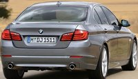2012 BMW 5 Series, Back quarter view. , manufacturer, exterior