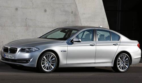 2012 BMW 5 Series, Front quarter view. , exterior, manufacturer