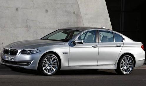 2012 BMW 5 Series, Front quarter view. , exterior, manufacturer