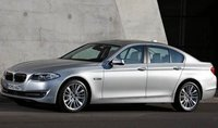2012 BMW 5 Series, Front quarter view. , manufacturer, exterior