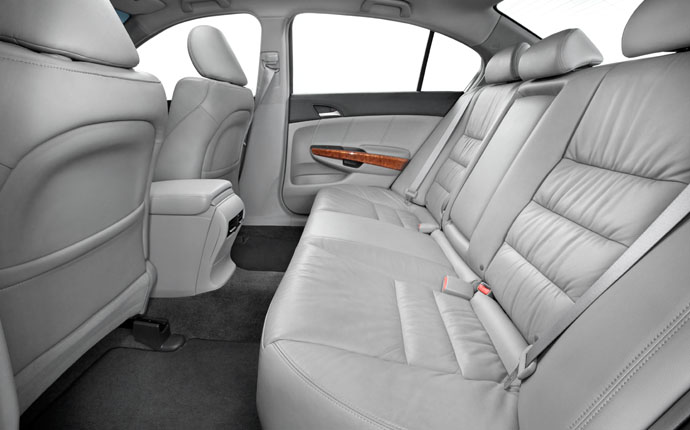 2012 Honda Accord, interior rear, manufacturer, interior