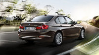 2012 BMW 3 Series, exterior rear quarter, manufacturer, exterior