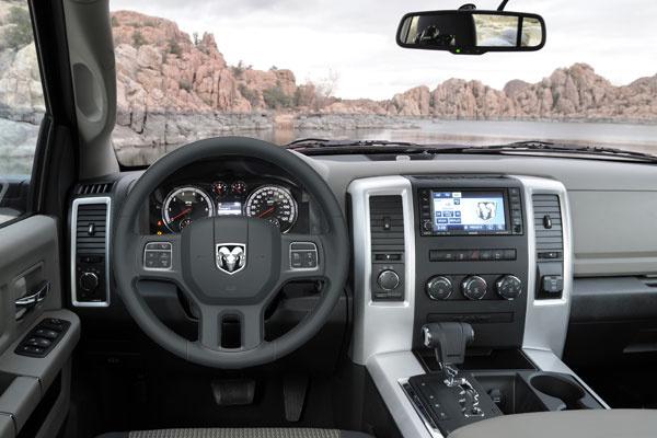 2012 Ram 1500, Interior Cockpit, Interior, Manufacturer, Gallery_worthy Nice Look
