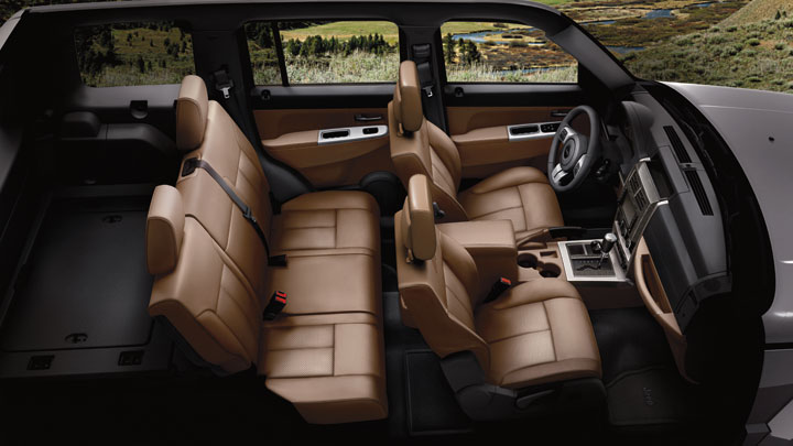 2012 Jeep Liberty, Interior seating, interior, manufacturer