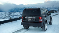 2012 Jeep Liberty, rear view, manufacturer, exterior