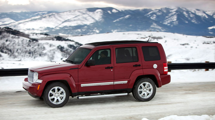 2012 Jeep Liberty, Side view, manufacturer, exterior