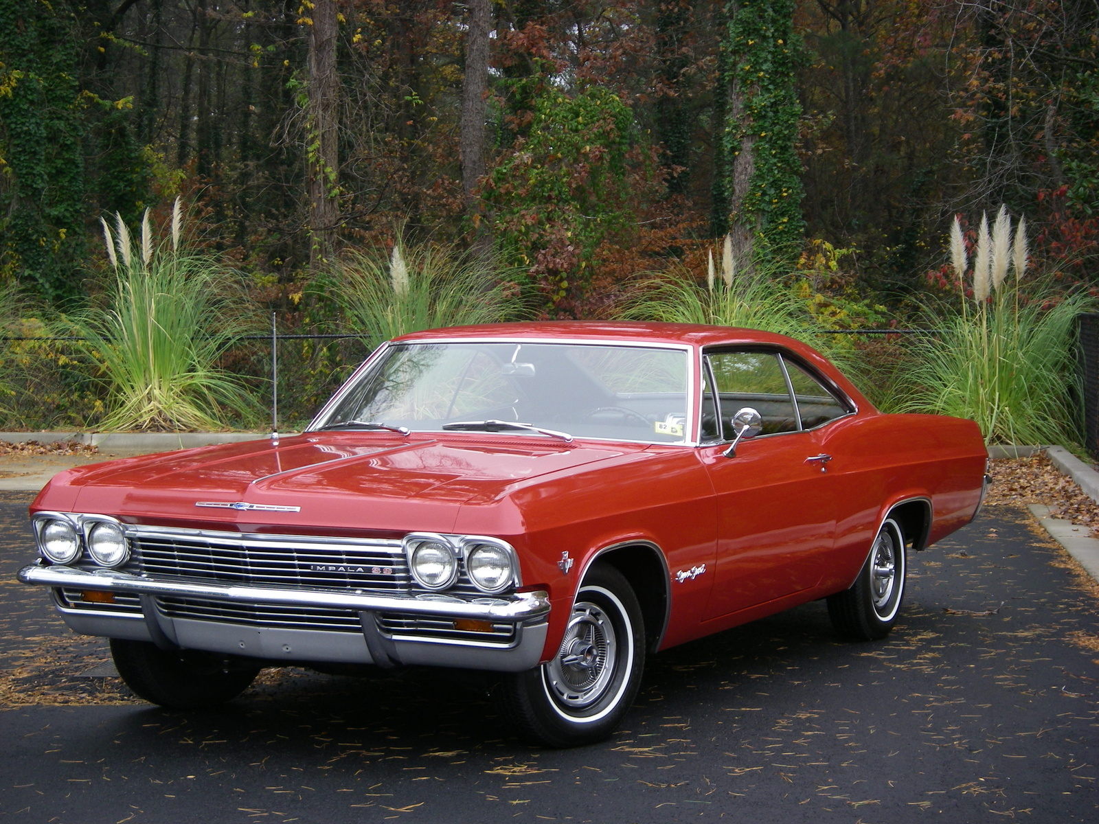 1965 Chevrolet Impala, 1965 Impala SS, all-original, 327/300, Muncie 4-speed, 36000 miles since new., interior, exterior