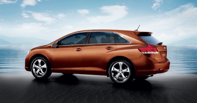 2012 Toyota Venza, Rear quarter, exterior, manufacturer, gallery_worthy