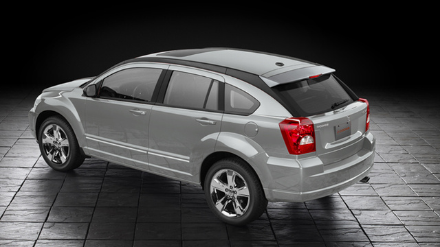 2012 Dodge Caliber, Rear quarter, exterior, manufacturer