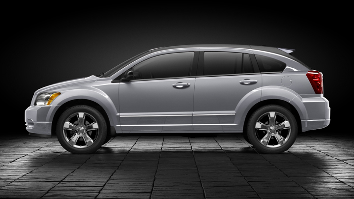 2012 Dodge Caliber, Side view, manufacturer, exterior