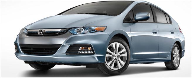 2012 Honda Insight, Front quarter, exterior, manufacturer