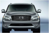 2012 INFINITI QX56, Front, exterior, manufacturer, gallery_worthy