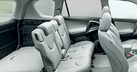 2012 Toyota RAV4, interior rear and cargo, manufacturer, interior
