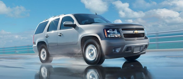 2012 Chevrolet Tahoe, exterior front quarter, exterior, manufacturer, gallery_worthy