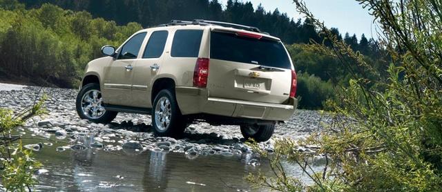 2012 Chevrolet Tahoe, exterior rear quarter, exterior, manufacturer