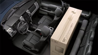 2012 Ford F-150, interior front and cargo, interior, manufacturer