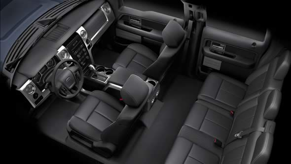 2012 Ford F-150, interior extended cab, interior, manufacturer