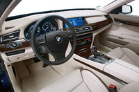 2010 BMW 7 Series 760Li RWD, INSIDE VIEW(STARING WHEEL), interior, gallery_worthy