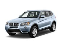 2012 BMW X3, Front quarter view copyright AOL Autos.., exterior, manufacturer