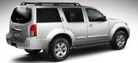 2012 Nissan Pathfinder, Back quarter view. , exterior, manufacturer
