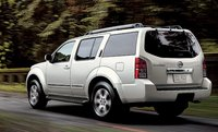 2012 Nissan Pathfinder, Back quarter view., manufacturer, exterior, interior