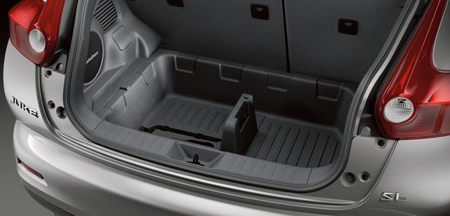 Nissan Juke Interior Trunk