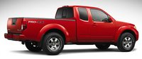2012 Nissan Frontier, Back quarter view. , exterior, manufacturer