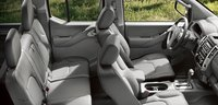 2012 Nissan Frontier, Front and back seat. , manufacturer, interior