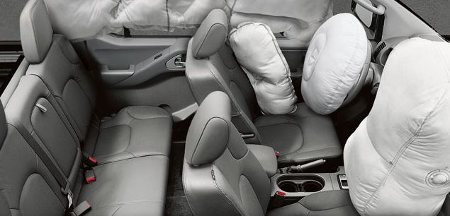 2012 Nissan Frontier, Air bags., interior, manufacturer