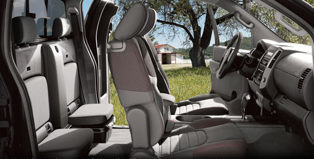 2012 Nissan Frontier, Front and back Seats. , interior, manufacturer