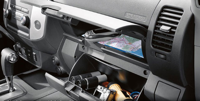 2012 Nissan Frontier, Glove box., interior, manufacturer