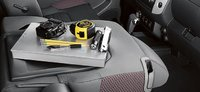 2012 Nissan Frontier, Center Console., interior, manufacturer