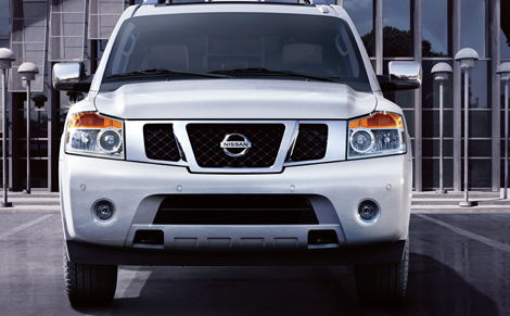 2012 Nissan Armada, Front View., exterior, manufacturer