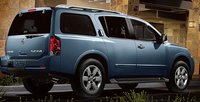 2012 Nissan Armada, Back quarter view. , exterior, manufacturer