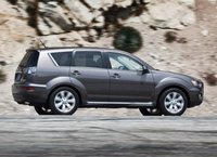 2012 Mitsubishi Outlander, Side View copyright AOL Autos. , exterior, manufacturer