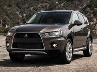 2012 Mitsubishi Outlander, Front quarter view copyright AOL Autos., exterior, manufacturer