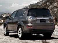 2012 Mitsubishi Outlander, Back View copyright AOL Autos. , exterior, manufacturer