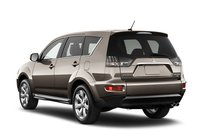2012 Mitsubishi Outlander, Back quarter view copyright AOL Autos. , exterior, manufacturer