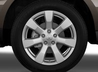 2012 Mitsubishi Outlander, Close-up of front tire copyright AOL Autos. , exterior, manufacturer